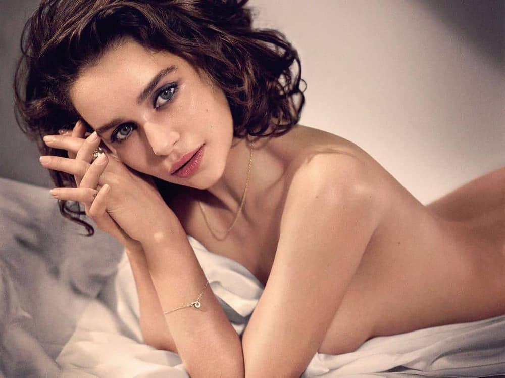 Emilia Clarke nahé a sexy fotky