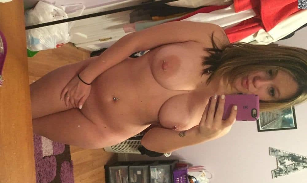 Big Black Pierced Nipples