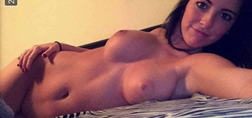 Photos of the perfect brunette just for her boyfriend